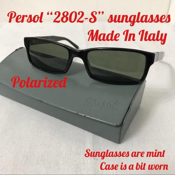 "fcd8b04d8b7c3 Persol ""2803-S"" Sunglasses. M 5b168c01fe5151b0b3051b71"